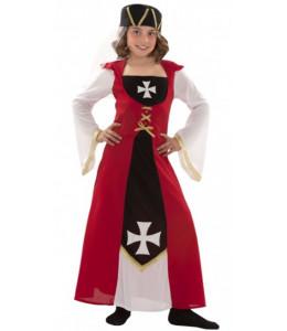 Disfraz de Marquesa de Malta Infantil