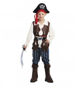 Disfraz de Pirata Caribeño Infantil