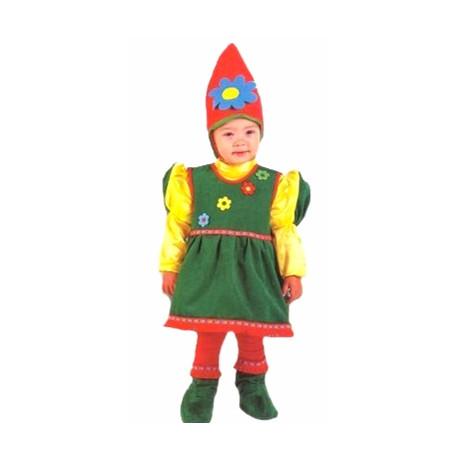 Disfraz de Gnoma Bebe