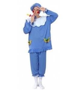 Disfraz de Bebe Azul