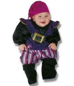 Disfraz de Pirata Morado Bebe
