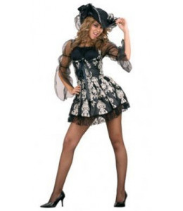 Disfraz de Lady Pirata Negra