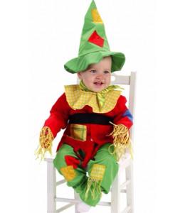 Disfraz de Espantapajaros Bebe Niño