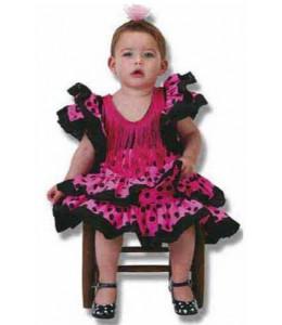 Disfraz de Sevillana Bebe Colores