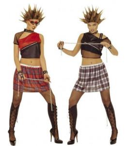 Disfraz de Punk Chica