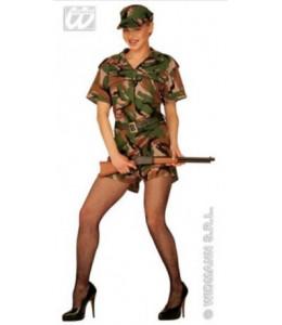 Disfraz de Buzo Militar Corto