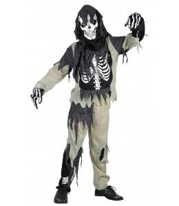 Disfraz de Esqueleto Zombie infantil