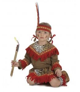 Disfraz de India Apache Bebe