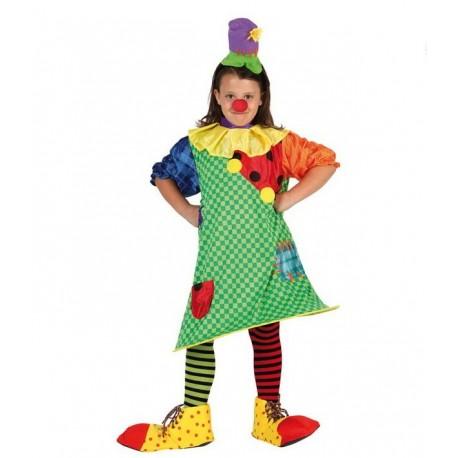 Disfraz de Payasa Infantil