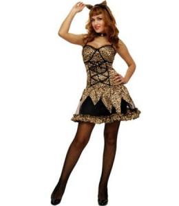 Disfraz de Leopardo vestido