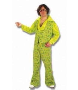 Disfraz de Hombre Años 60 Verde