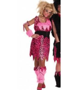 Disfraz de Cavernicola Rosa