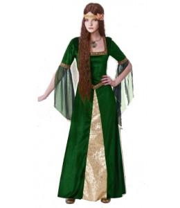Disfraz de Medieval Verde