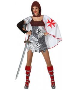 Disfraz de Soldado Chica Medieval