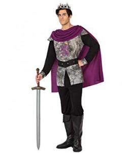 Disfraz de Rey morado Medieval
