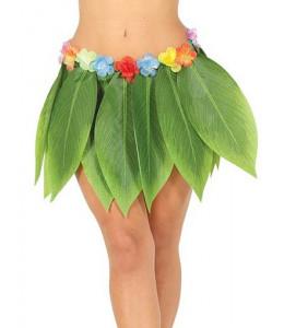 Falda Hawaiana Hojas