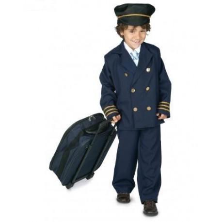 Disfraz de Piloto de Aviacion Infantil