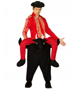 Disfraz de Torero a Hombros Rojo