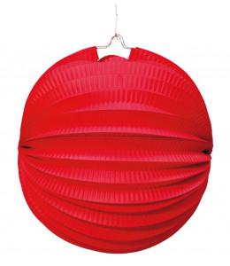 Farol Esferico Rojo