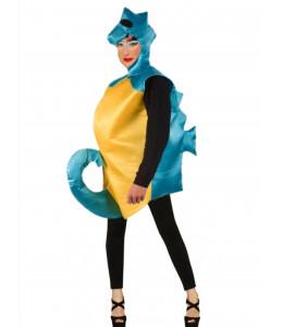 Disfraz de Caballito de Mar Azul
