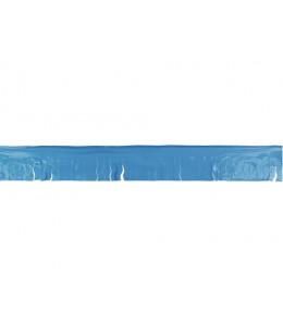 Guirnalda de Flecos de Plastico Azul