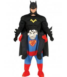 Disfraz Bat boy a hombros