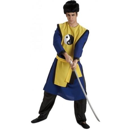 Disfraz de Samurai Ying Yang
