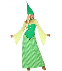 Disfraz de Duendecilla Verde
