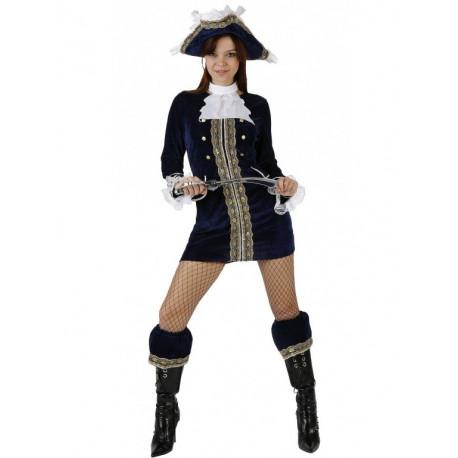 Disfraz de Piratesa Azul