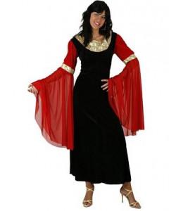Disfraz de Dama medieval Negra