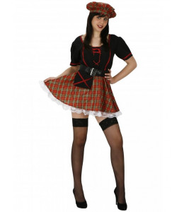 Disfraz de Escocesa Negra