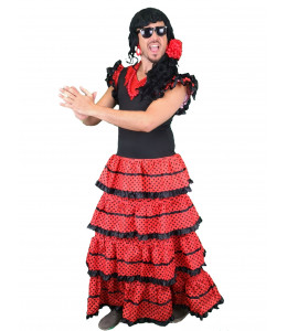 Disfraz de Sevillana Hombre La Lola