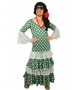 Disfraz de Sevillana Hombre La Betis