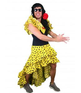 Disfraz de Sevillana Hombre Cola