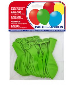 Bolsa con 12 Globos verdes