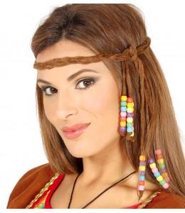 Cinta con abalorios Hippie