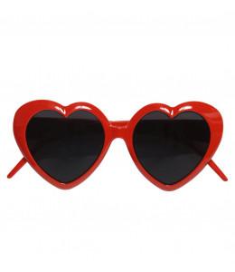 Gafas Corazones Rojas