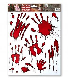 Huellas de Sangre Adhesivas