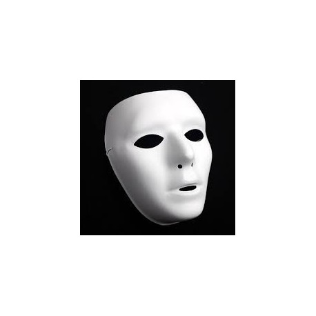Mascara Blanca  Infantil