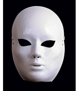 Mascara Blanca con brillo