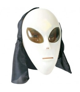 Mascara Alien con capucha
