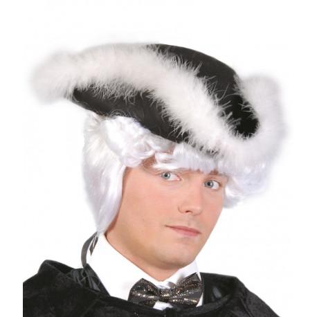Sombrero Almirante con Plumas