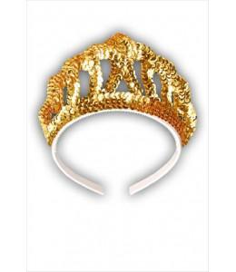 Corona con Diadema Plata