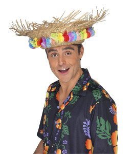 Sombrero Paja Hawaiano