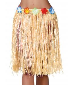 Falda Hawaiana Paja 50cm