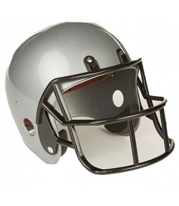 Casco Rugby Gris