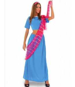Disfraz de Hindu Azul