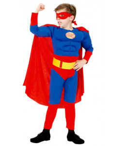 Disfraz de Superman Musculoso Infantil