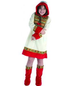 Disfraz de Esquimal Niña