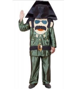 Disfraz de Guardia Civil  Cabezon